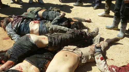 Трупы исламских боевиков