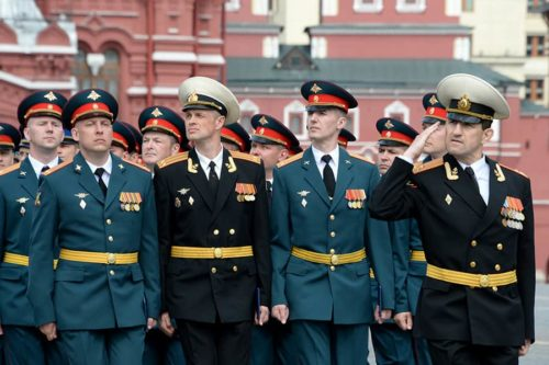 Военнообязанные лица в запасе