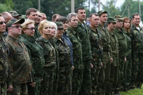 Мобилизация военнообязанных