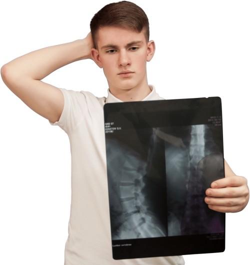 Юноша с рентгеном