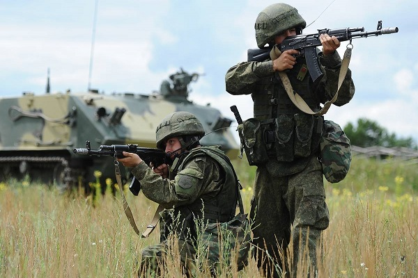 Мотострелковые войска РФ