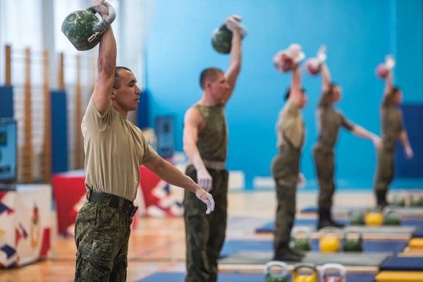 Физкультура у военных
