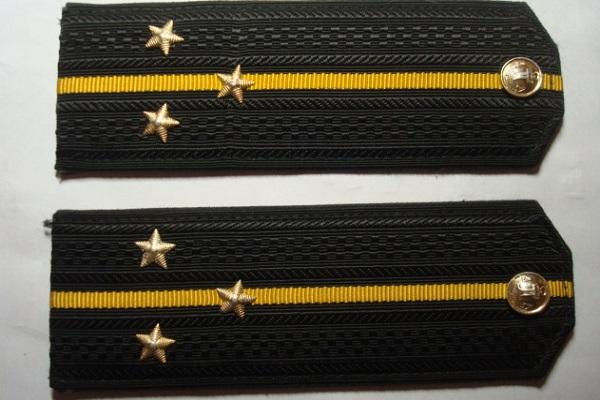 Три звезды на погонах